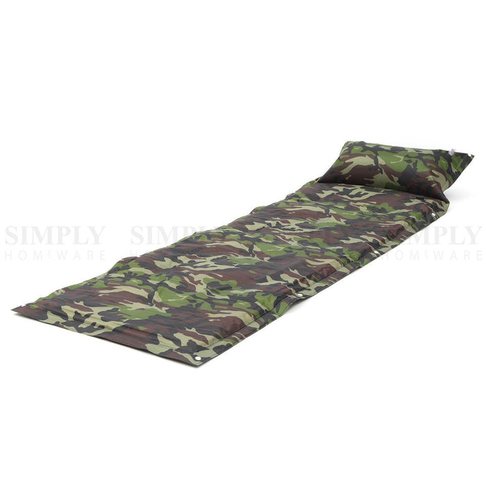 Camping Mattress Self Inflating Air Mat Sleeping Pad Bed Hiking Inflatable Bag - Simply Homeware