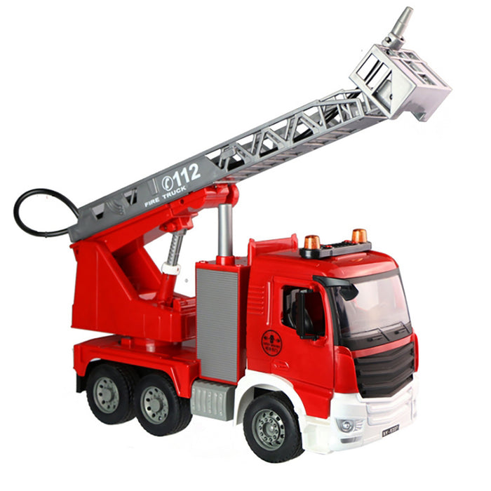 Truboo Construction Truck Toy Kids Large Vehicle Excavator Fire Engine Dumper