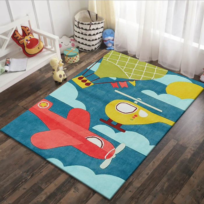 Truboo Kids Play Area Rug Velvet Carpet Baby Crawling Mat Bedroom 200x300cm