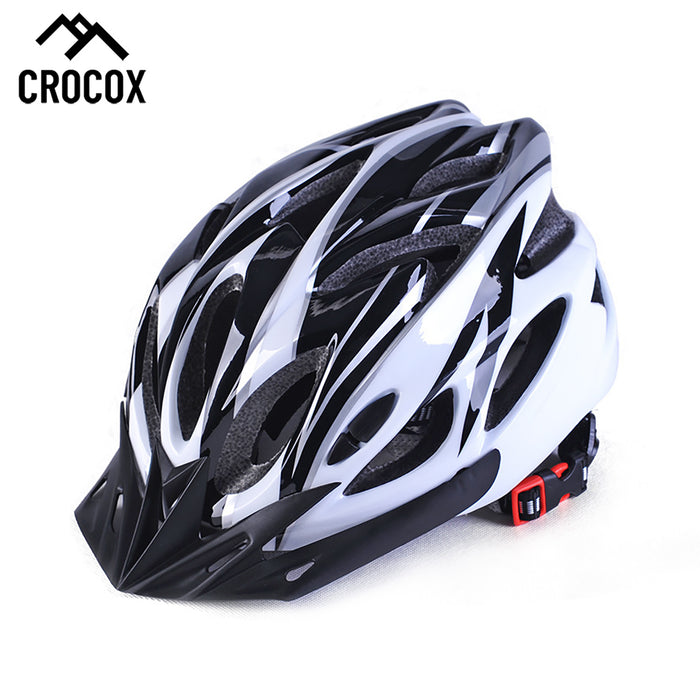 Crocox Cycling Helmets Bicycle Light Road Bike Adults Men Pad Cover Unisex S M L