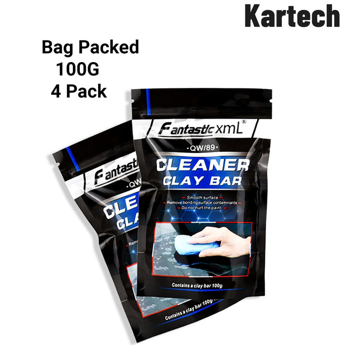 4x Kartech Car Clay Bar Auto Detailing Wash Cleaning Mud Magic Paint Remover