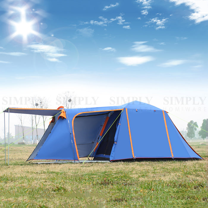 Camping Tent 6 Person Instant Pop Up Family Light Portable Waterproof Automatic - Simply Homeware