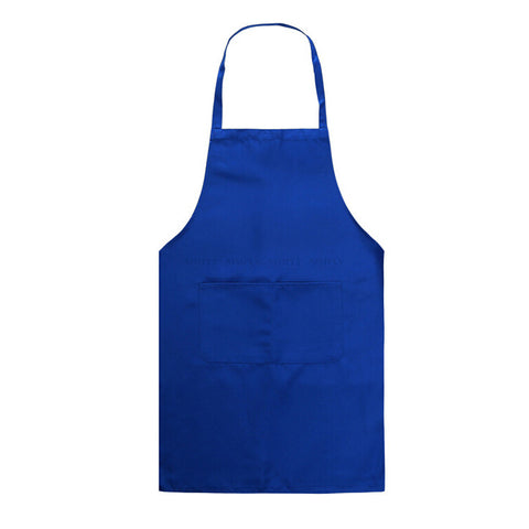 Apron With Pocket Chef Kitchen Cooking Cotton Women Men Unisex Ladies Bib Work