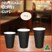 Pardy Coffee Cups Disposable Paper 8 12oz 16oz Single Wall Takeaway Drink Water - Simply Homeware