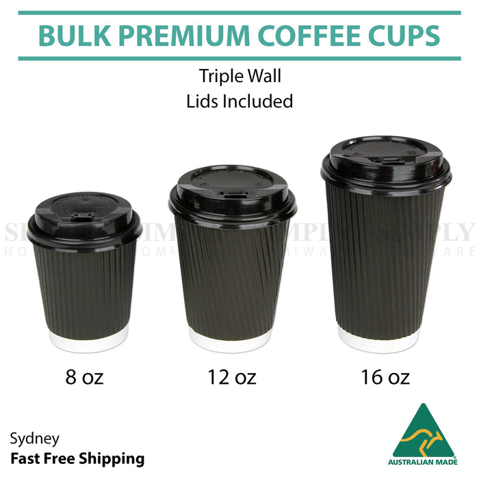 Business, Office & Industrial 50X Disposable Coffee Cups 16