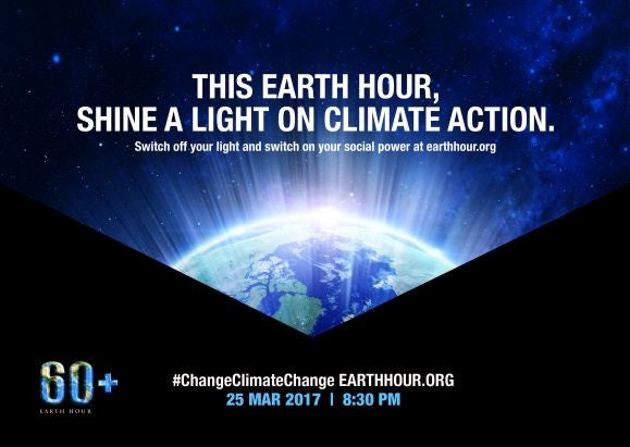25 March 2017 - Earth Hour Awareness