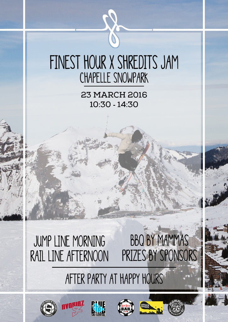 Finest Hour X Shredits Jam