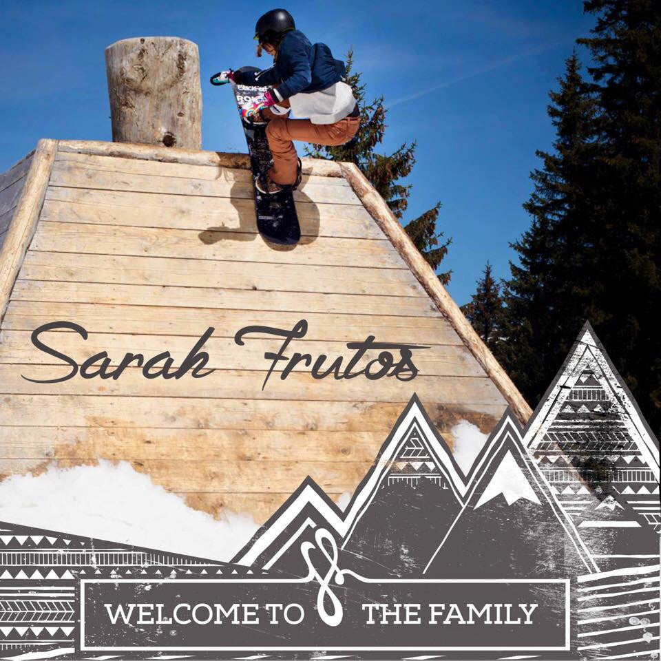 Welcome to the Family: Sarah Frutos