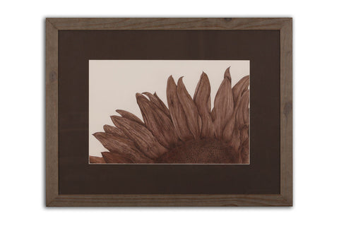 Sunflower - Framed Original Art
