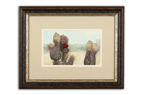 Creeping Thistle - Limited Edition Giclée Print