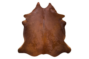 Dark Chocolate Natural Cowhide Floor Covering