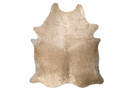 Sandy Desert Embellished Cowhide Floor Covering