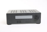 Home theater receiver prop graphite finish