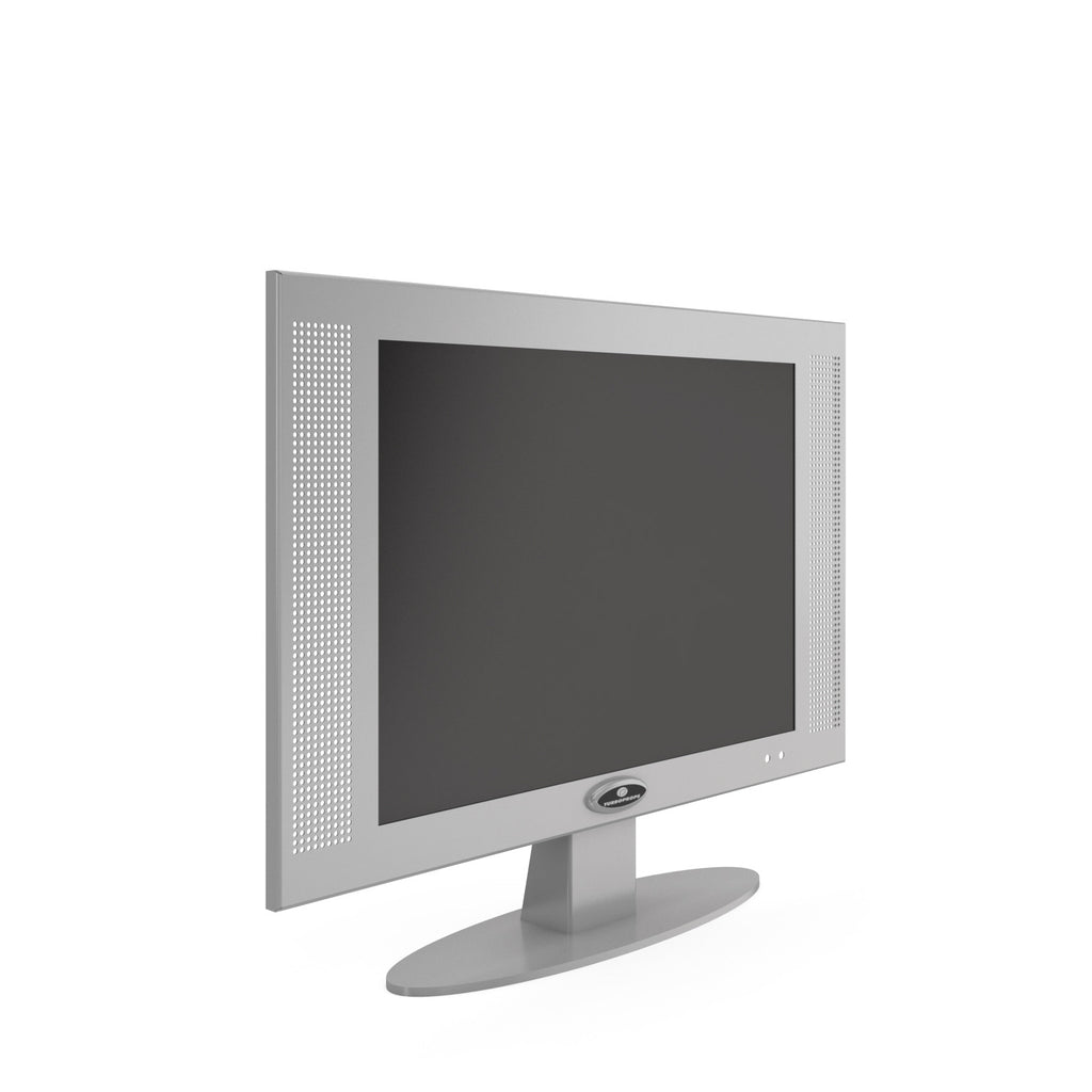 17 inch platinum LCD table top monitor prop