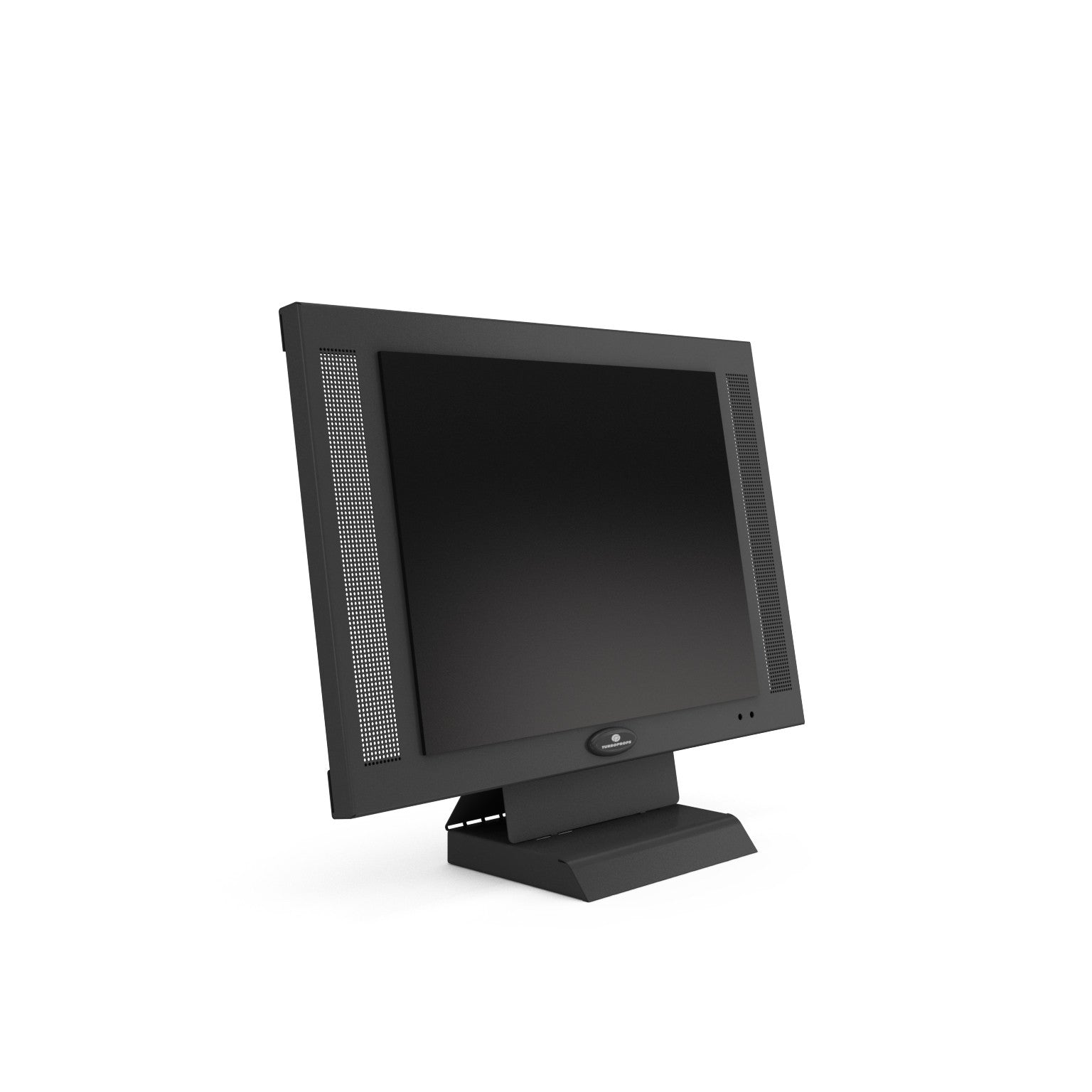 20 inch wall mountable graphite LCD monitor prop