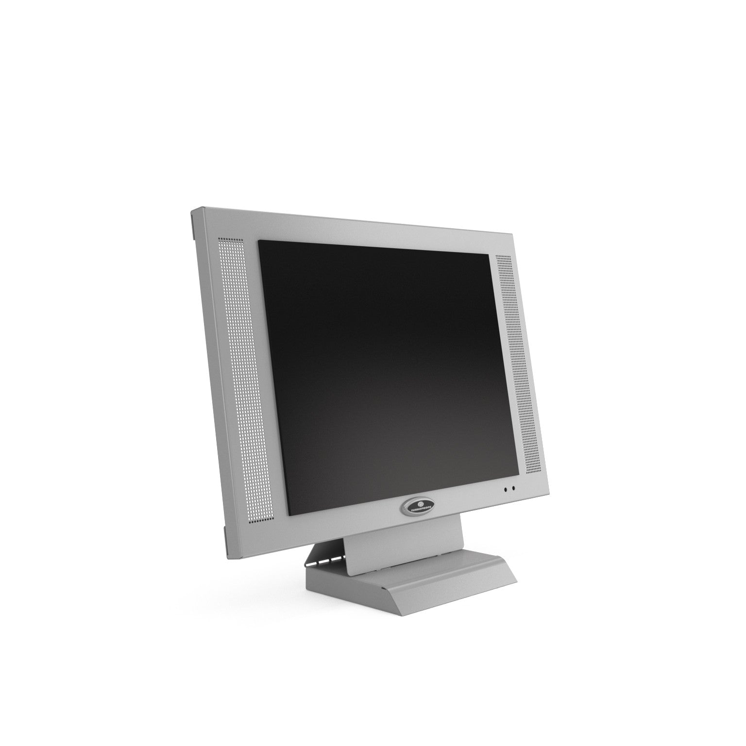 20 inch wall mountable platinum LCD monitor prop