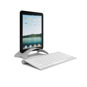 Black tablet prop with platinum stand and keyboard 3 sets per box