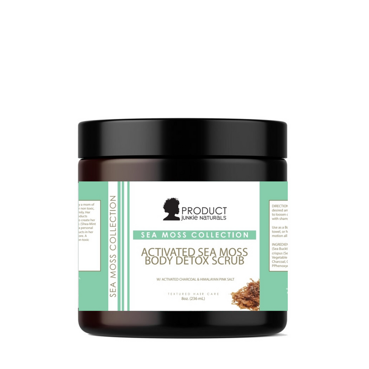Activated Sea Moss Body Detox Scrub