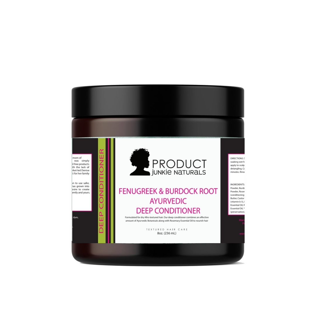 Fenugreek & Burdock Root Ayurvedic Deep Conditioner (Protein Free)