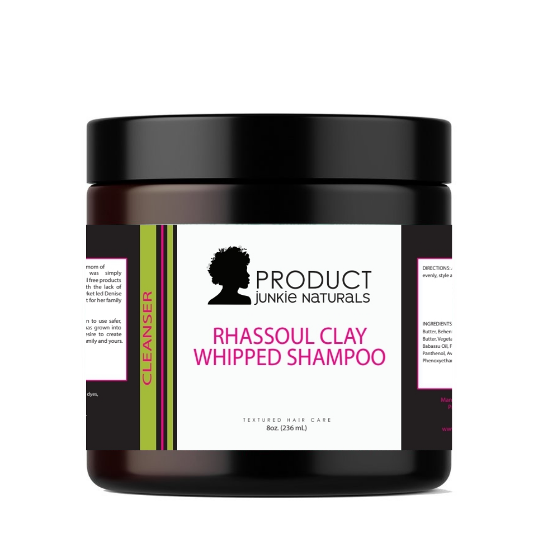 Rhassoul Clay Whipped Shampoo