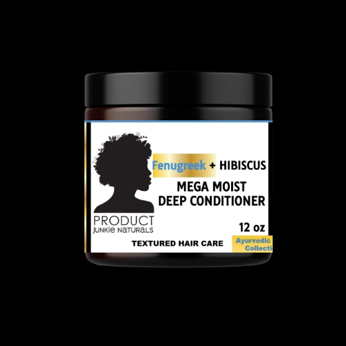 Fenugreek + Hibiscus Mega Moist Deep Conditioner