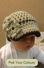 Load image into Gallery viewer, Peak-Cap-Beanie-for-Children-Nchanted-Gifts
