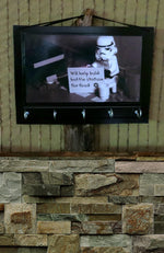 Load image into Gallery viewer, Wall-Key-Holders-Storm-Trooper-Nchanted-Gifts