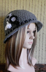 Load image into Gallery viewer, 1920-Crochet-Beanie-Nchanted-Gifts