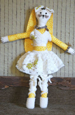 Load image into Gallery viewer, Handmade Fabric Doll - Rabbit Toy