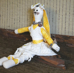 Handmade-Fabric-Doll-Rabbit-Toy-Nchanted-Gifts