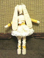 Load image into Gallery viewer, Handmade-Fabric-Doll-Rabbit-Toy-Nchanted-Gifts