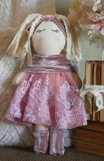 Load image into Gallery viewer, Handmade-Fabric-Rag-Doll-Nchanted-Gifts