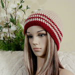 Load image into Gallery viewer, Striped Crochet Hat