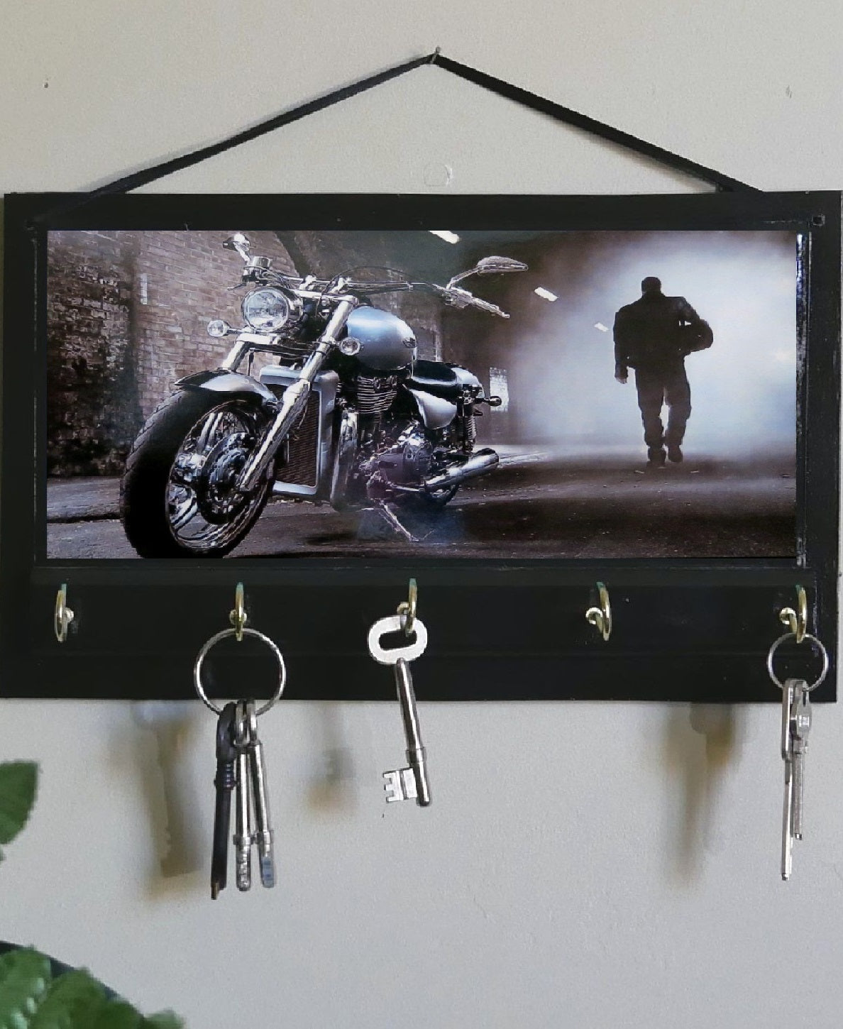 Harley-Davidson-Motor-Bike-Key-Rack-Holder-Nchanted-Gifts