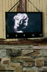 Load image into Gallery viewer, Entryway-Organizer-Marilyn-Monroe-Key-Rack-Nchanted-Gifts