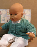 Load image into Gallery viewer, Green-Baby-Cardigan-Nchanted-Gifts