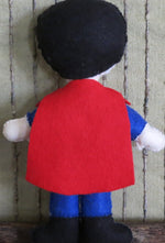 Load image into Gallery viewer, Felt-Superman-Stuffed-Toy-Nchanted-Gifts