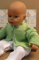 Load image into Gallery viewer, Baby-Cardigan-Mint-Green-Nchanted-Gifts