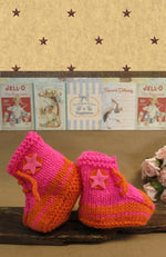 Load image into Gallery viewer, Clarence-Sale-Bright-Baby-Booties-1-2-Years-Nchanted-Gift