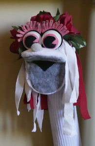 Sock Puppet Educational Toy