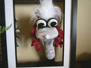 Sock Puppet Learning Toy