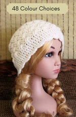 Load image into Gallery viewer, Children's-Beanie-in-Celtic-Weave-Nchanted-Gifts