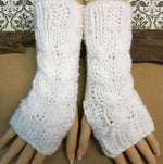 Load image into Gallery viewer, Cabled-Fingerless-Arm-Warmers-Nchanted-Gifts