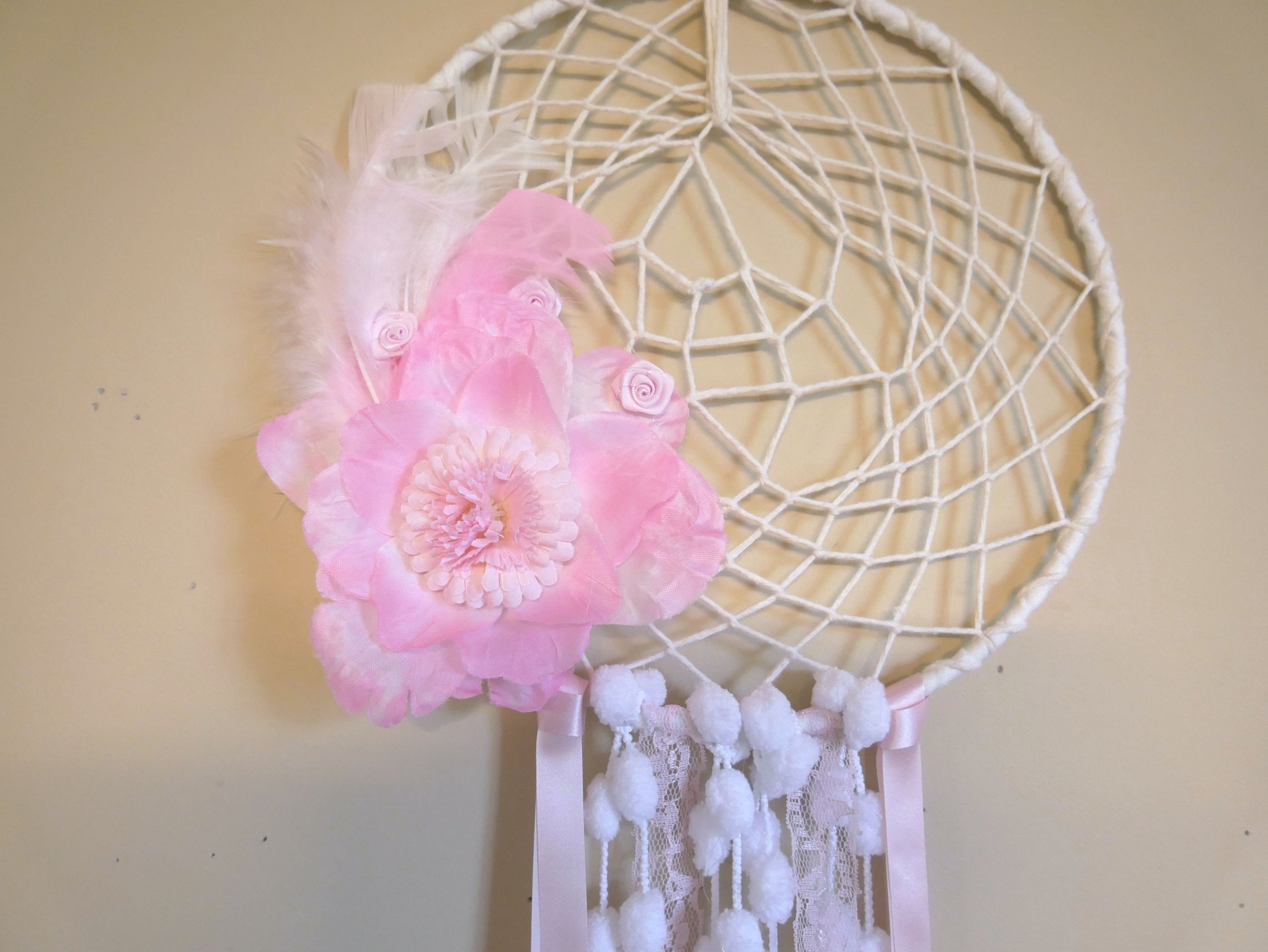 Feather-Flower-Dreamcatcher-Nchanted-Gifts
