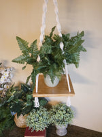 Load image into Gallery viewer, Plant-Hanging-Shelf-Nchanted-Gifts