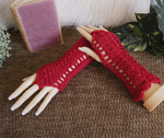 Load image into Gallery viewer, Fingerless-Lace-Pattern-Gloves-Nchanted-Gifts