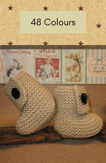 Load image into Gallery viewer, Traditional-Baby-Booties-Nchanted-Gifts