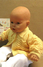 Load image into Gallery viewer, Lemon-Matinee-Jacket-for-Baby-Nchanted-Gifts