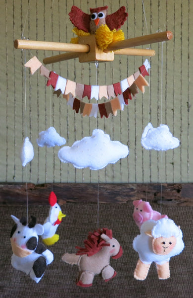 Baby-Mobile-with-Farm-Animals-Nchanted-Gifts