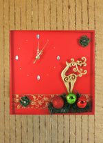 Load image into Gallery viewer, Reindeer-Christmas-Wall-Clock-Nchanted-Gifts